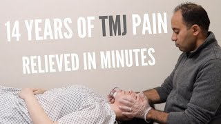 14 Years of Jaw Pain TMJ Relieved In Minutes (REAL RESULTS!!!!)