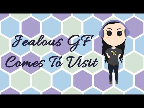 ASMR Jealous Girlfriend Comes To Visit You