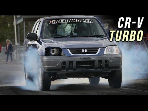 Honda CR-V turbo SLEEPER