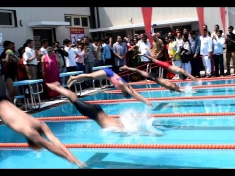 Swimming pools at Delhi's govt. schools | Delhi CM Kejriwal & Dy CM Sisodia inaugurate swimming pool