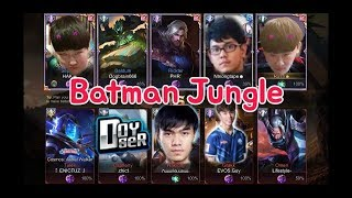 《ahq Rush 》Batman Jungle! Doyser Guy 007x VS Rush Hak NT !!