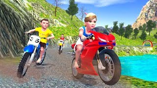 Offroad Motorbike Racing Driver - motorbike games