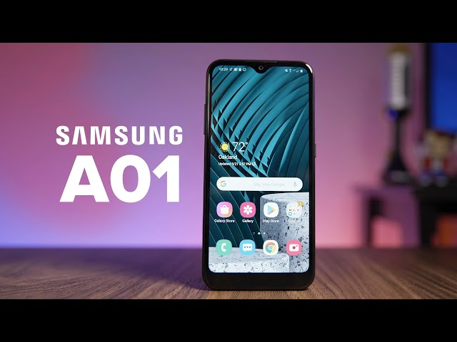 Galaxy A01 review: Cheap price with decent specs