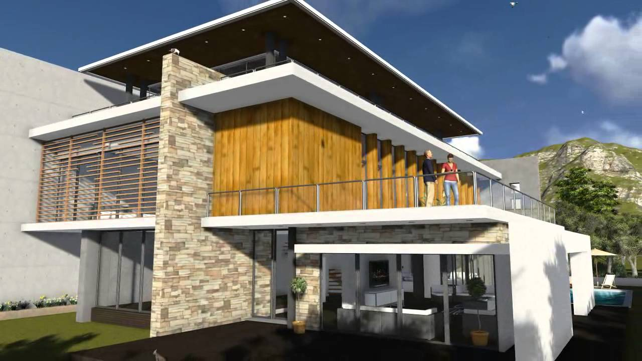 Modern villa design youtube for Design villa moderne