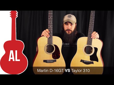 Martin D-16 VS Taylor 310 - Which One Wins?
