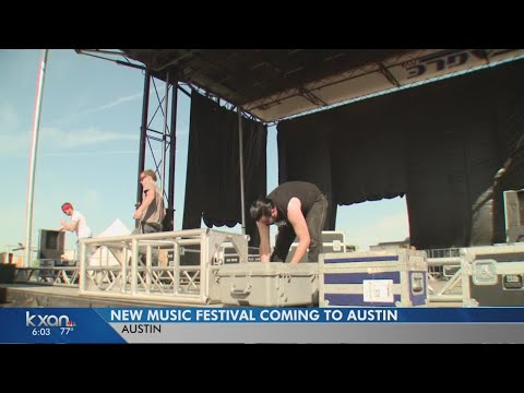 New music festival heading to Austin