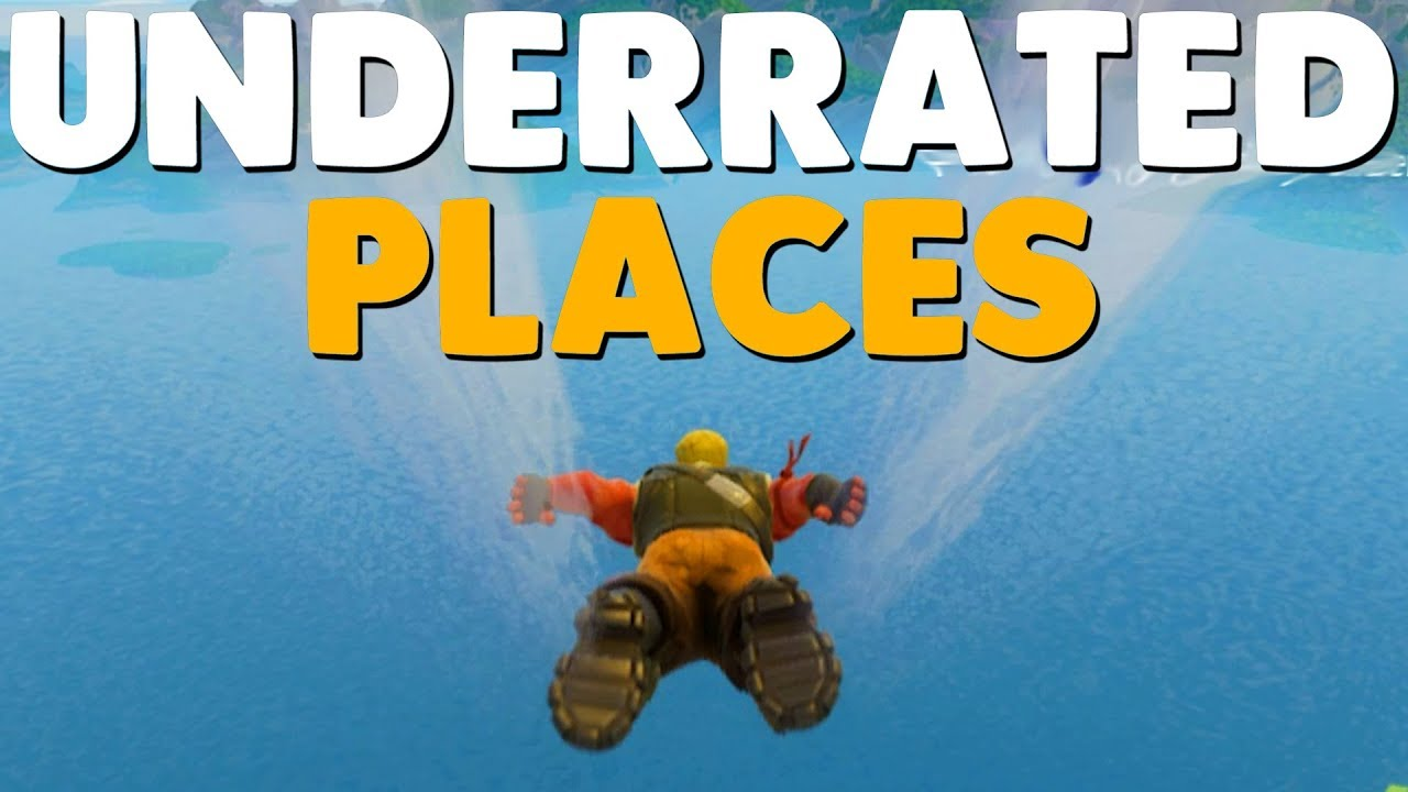 Top Places To Find The Best Loot: 10 Underrated Places To Find LEGENDARY LOOT In Fortnite