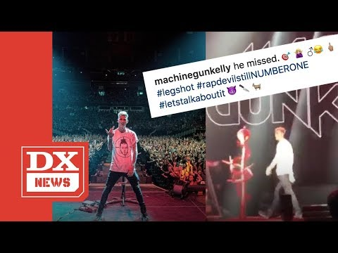 Machine Gun Kelly Gets Booed Off Stage Performing