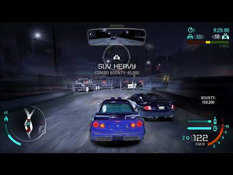 Need for Speed  Carbon - Lvl 1 to 7 pursuit