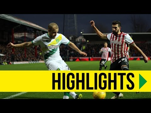 HIGHLIGHTS: Brentford 1-1 Norwich City