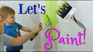 PAINTING OUR NEW HOME!