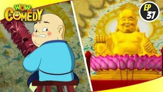 Little Buddha- S1EP37   Hindi Cartoon Show   Funny Videos For Kids   Wow Kidz Comedy