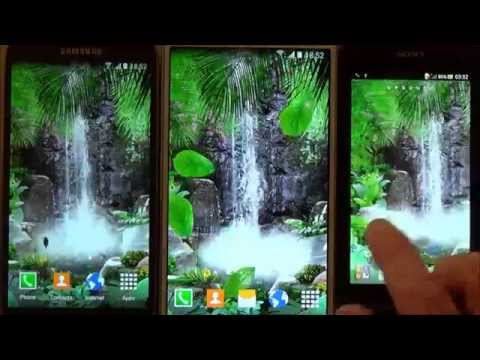 Falling Leaves Live Wallpaper Apps Android 3d Waterfall Live Wallpaper Apps On Google Play
