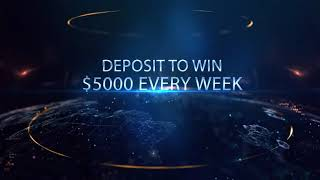 Get Your $200 Trading Bonus, deposit to win $5000 every week- GWFX Global