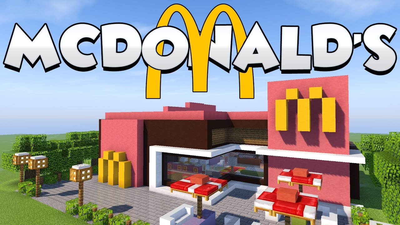 Come costruire un mcdonald 39 s su minecraft youtube for Casa mcdonald