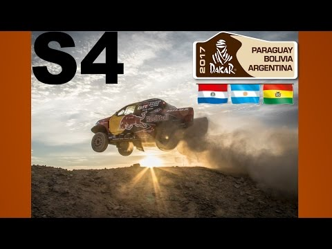 Dakar Rally Stage 4 Highlights 2017 {720p 60fps}