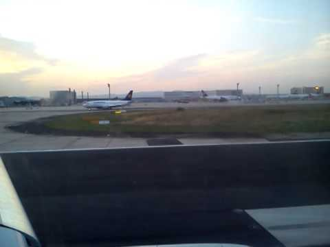 Lot z Frankfurtu