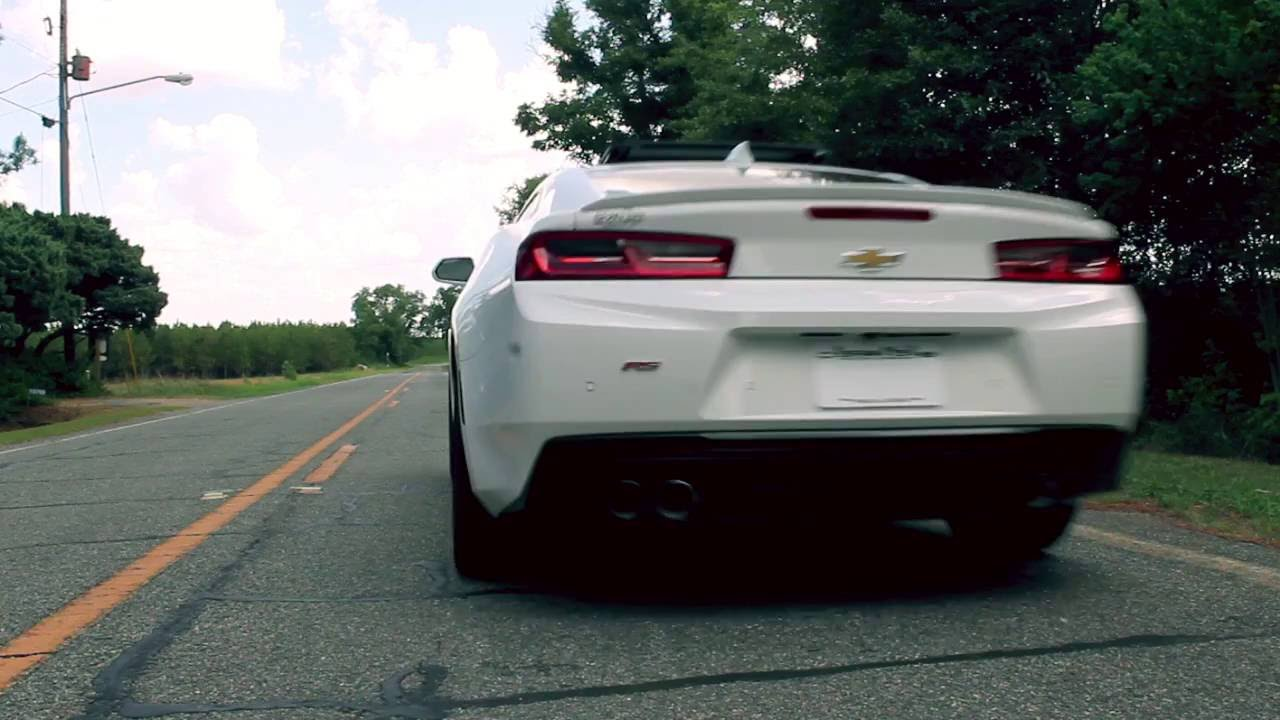 2017 Chevrolet Camaro Dual Mode Exhaust Npp Display Idle To