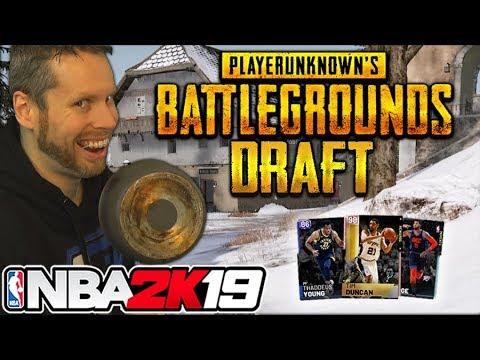 NBA 2K19 Playerunknown's Battlegrounds Draft thumbnail
