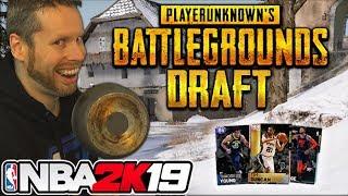 NBA 2K19 Playerunknown's Battlegrounds Draft