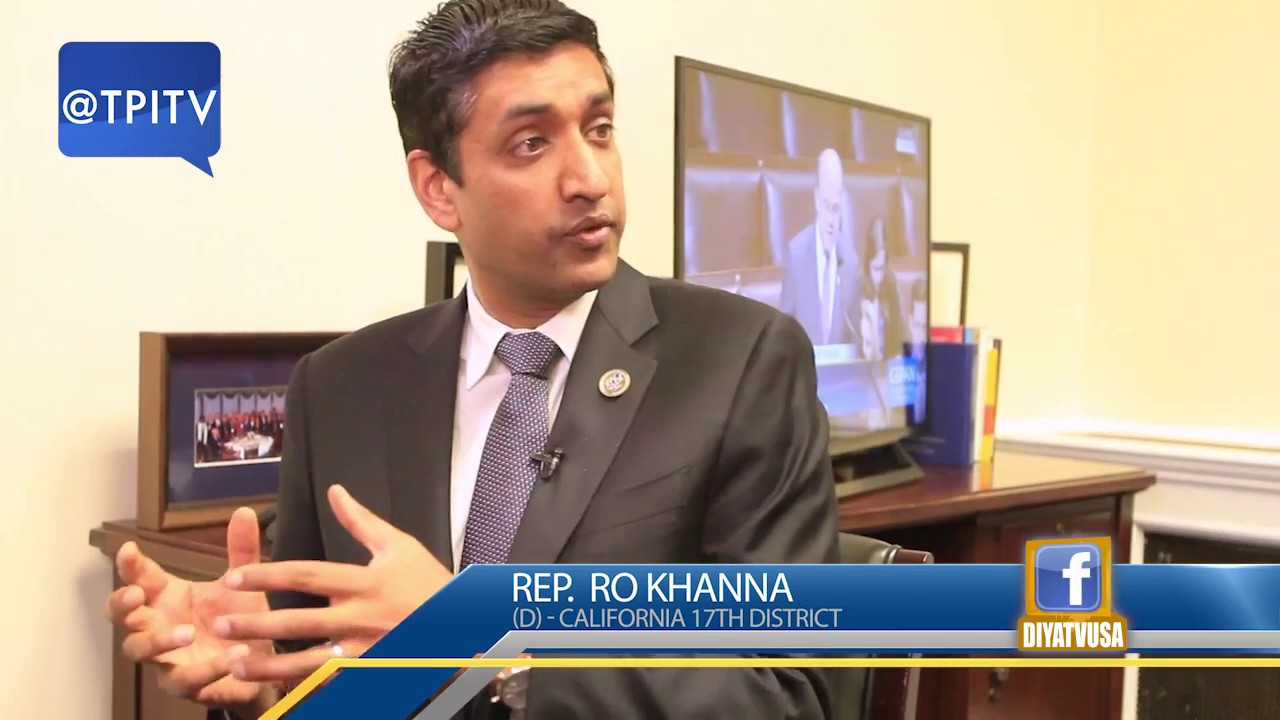 TPITV: Rep  Ro Khanna on immigration reform & the H1B bill he's proposed