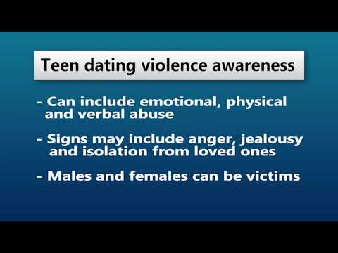 Police Offer Warning Signs During Teen Dating Violence Awareness Month