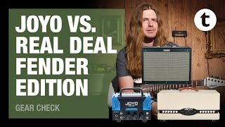 How good are Joyo amps really? ft. Robert Baker | Part 3 | Joyo vs. Fender Hotrod | Thomann
