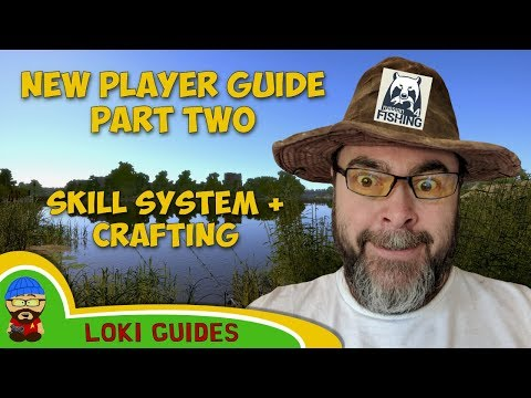 Russian Fishing 4 Guide Part 2 - The Skill System - Fishing Simulation PC Game