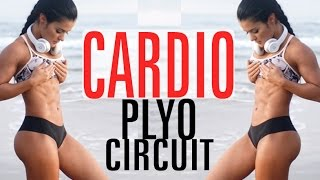 Beach CARDIO Plyo Circuit - Prep Vlog