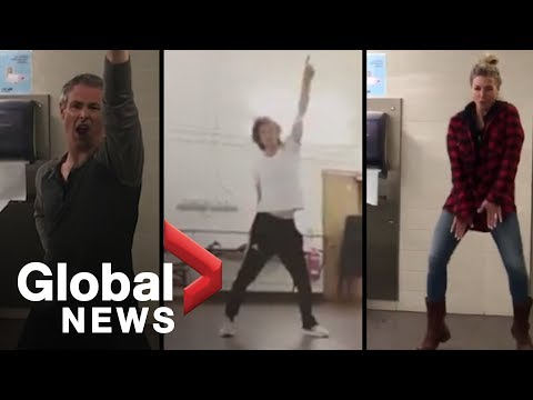Mick Jagger dancing tweet inspires TMS 'Moves like Jagger' dance-off