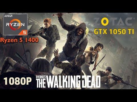 Overkill's The Walking Dead - Ryzen 5 1400 - GTX 1050 Ti - 8GB DDR4 Ram - 1080p thumbnail