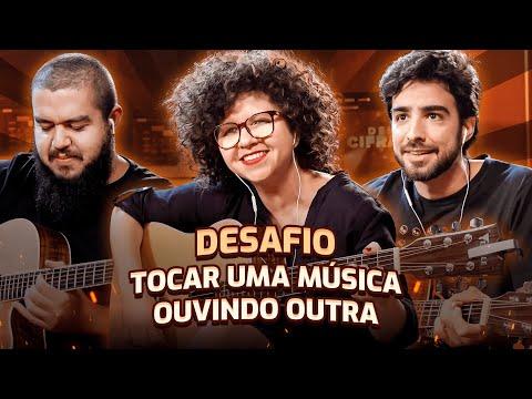 TOCANDO UMA MÚSICA OUVINDO OUTRA | Roberta Campos X Cifra Club
