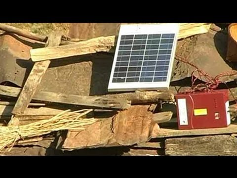 Solar lanterns light up lives