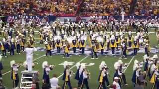 WVU vs. Alabama - WVU Band pre-game