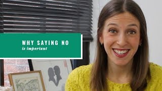 """Learn How To Say """"No"""" With Confidence"""