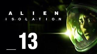 ANDROID Z WIELKIM SERCEM || Alien: Isolation [#13]