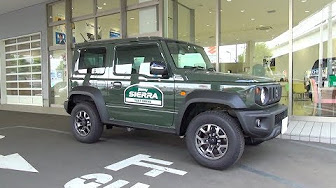 Imny Sierra Jimny Sierra Jeep Test Drive Youtube