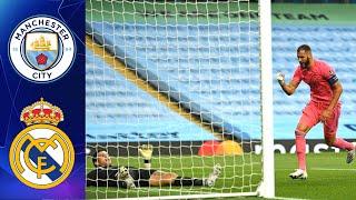 Манчестер Сити Реал Мадрид Лига Чемпионов 1 8 финала 07 08 2020 Обзор FIFA Ванга
