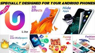 App Review of U Launcher lite New 3D Launchers apps - Customize Like Google now Launcher screenshot 1