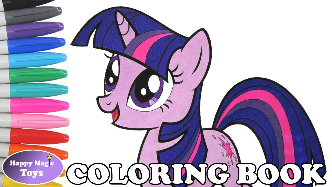 mlp twilight sparkle coloring book pages my little pony twilight