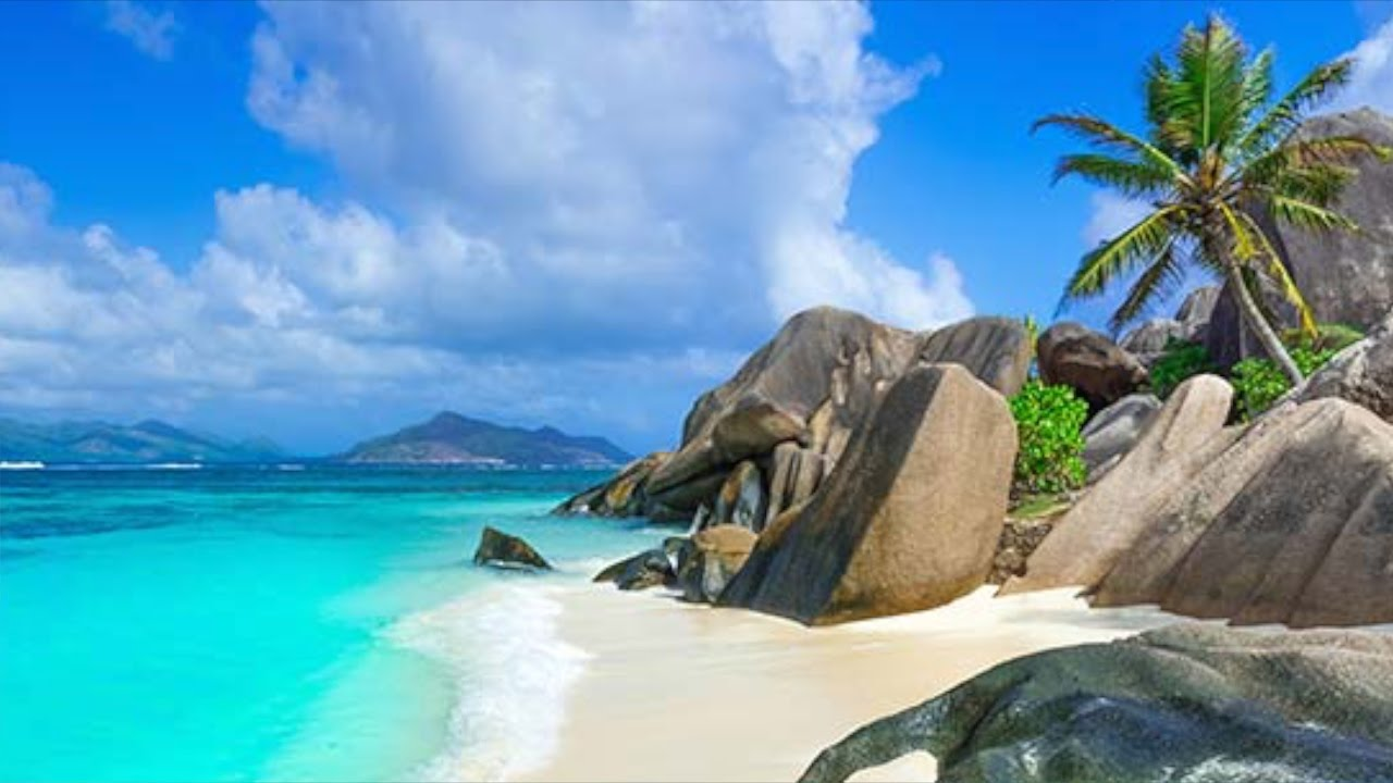 Animated Ocean Wallpaper Tropical Paradise The Seychelles Youtube