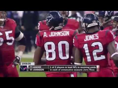Down 8 with under 30 seconds left, Andre Johnson makes a remarkable catch allowing the Texans to pull off the OT victory on MNF (2010)