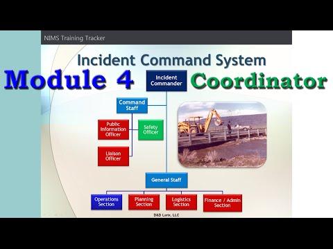 Module 4: NIMS Training Tracker Coordinator