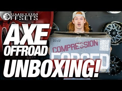 AXE OFFROAD UNBOXING!