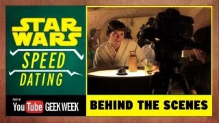 Behind the Scenes - Star Wars Speed Dating
