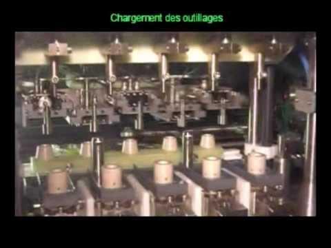 Machine ECM spéciale / Usinage Cavité - Customized ECM Machine / Nozzle recess machining