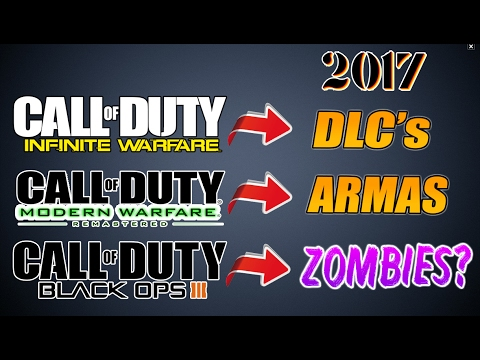 Call Of Duty: Stronghold y MÁS de BO3 Zombies en 2017 CONFIRMADOS?
