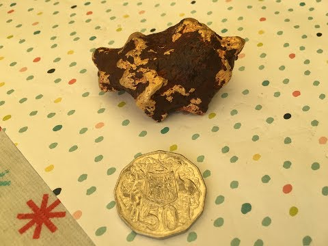 Huge 10 ounce Natural Gold Nugget. Found in Western Australian.