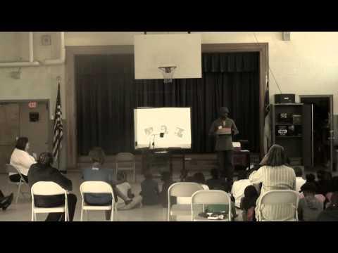 Addalesson Speaks to School Street Elementary School (Part 1)