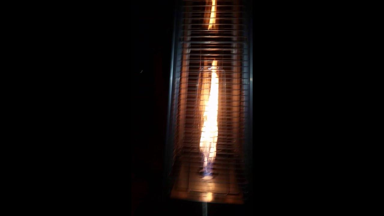 Pyramid Outdoor Heater Quartz Glass Patio Heater